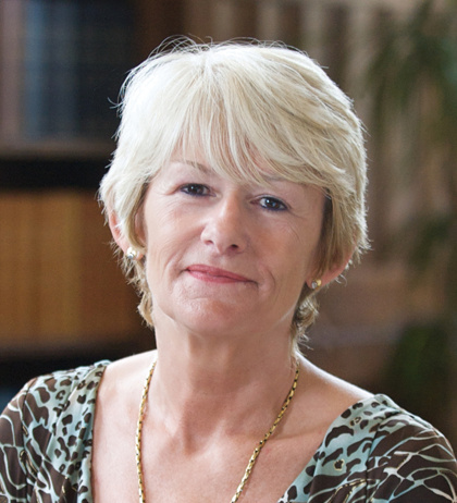 Portrait photograph of Professor Dame Nancy Rothwell